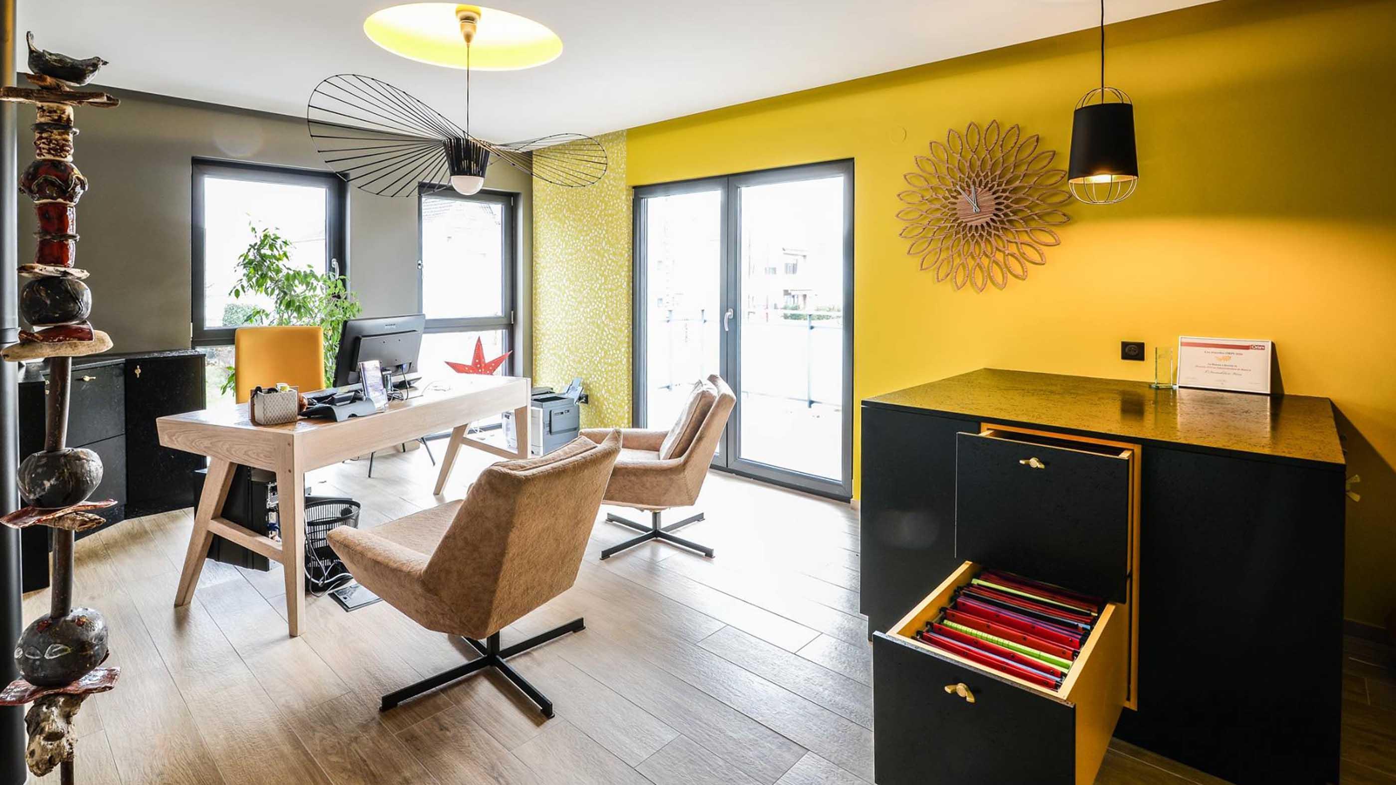Agencement de bureaux dans le Bas-Rhin