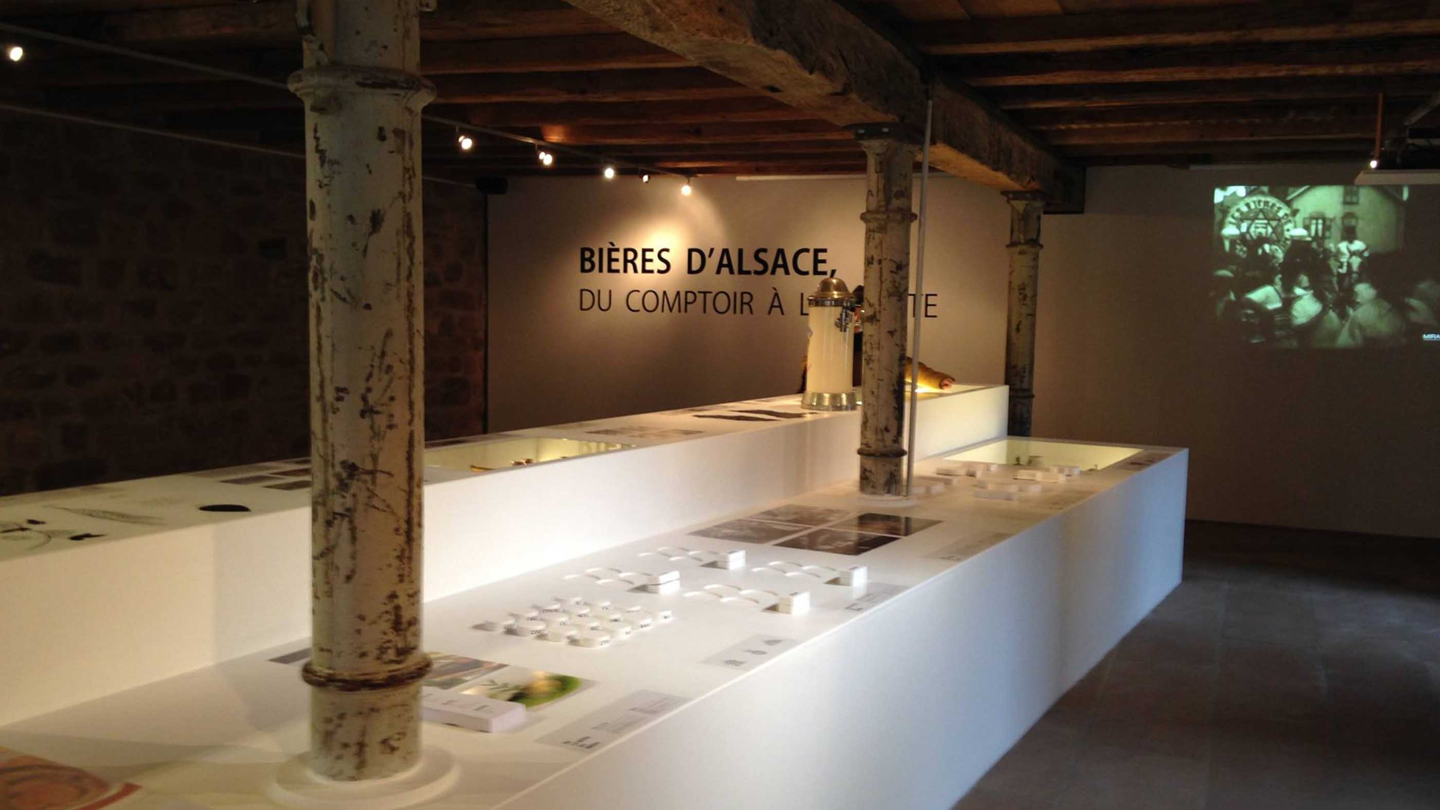 Aménagement design pour un musée